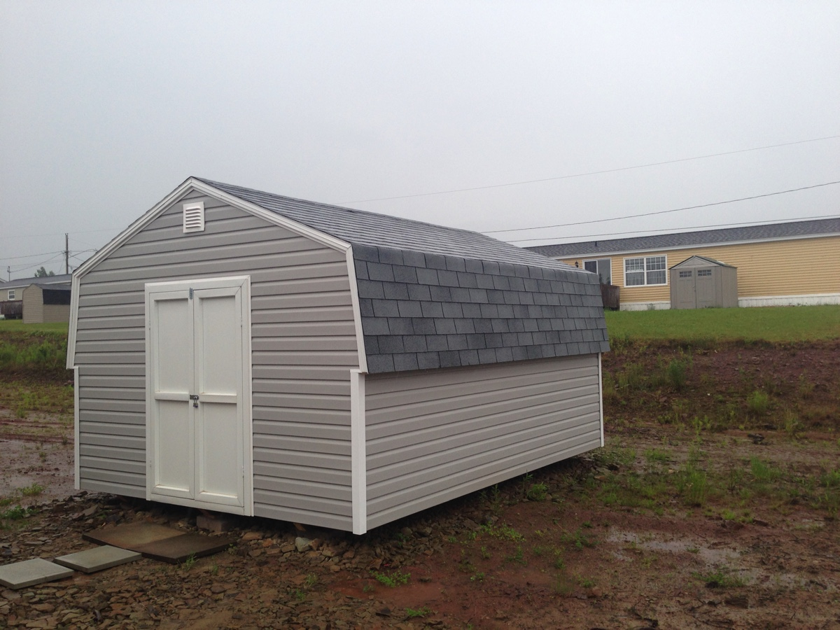 chassell storage barn michigan from u sheds llc style mini minibarngardenshed p shed