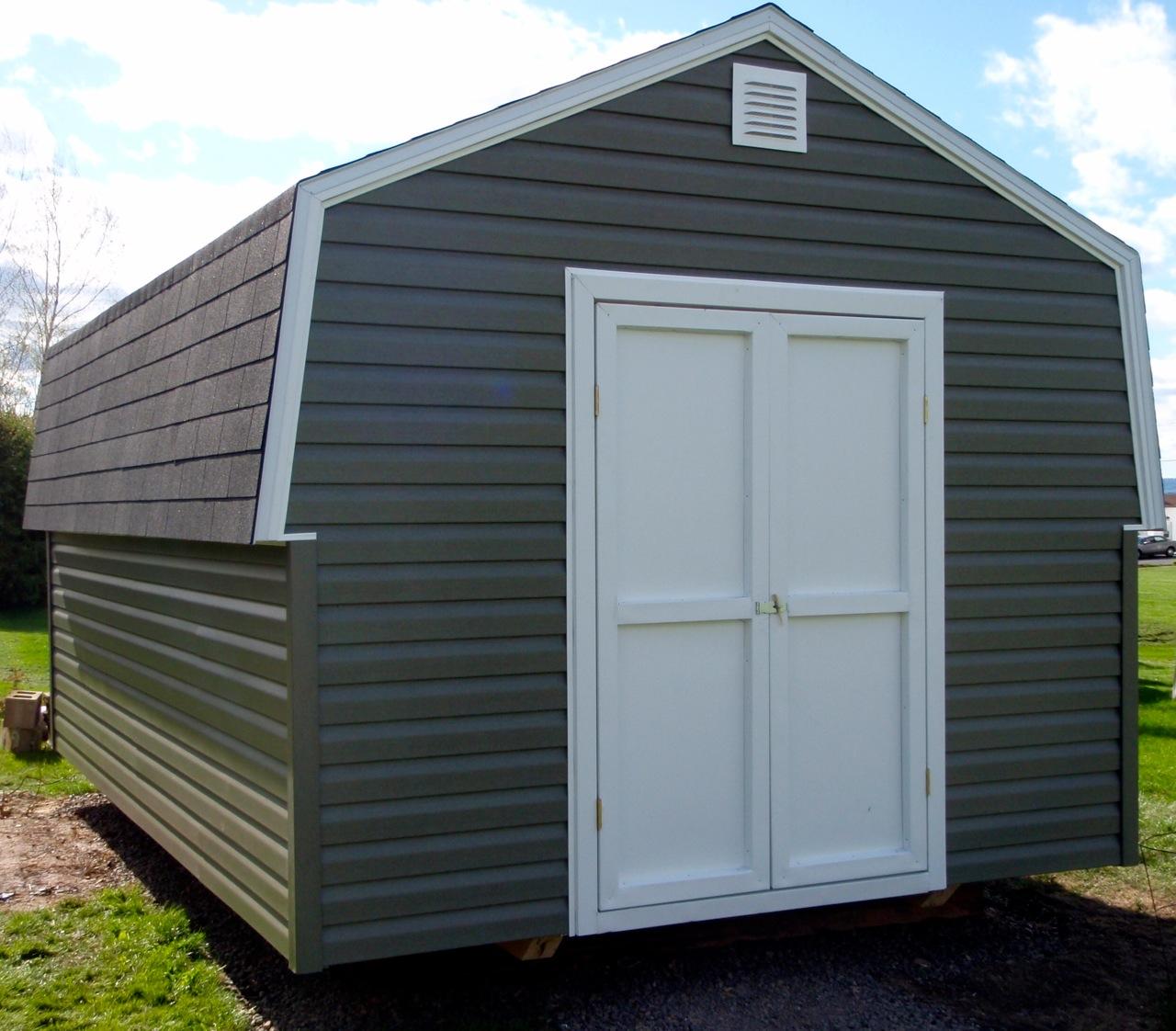 Gambrel Peak Roof Sheds Jeramand Baby Barns Storage
