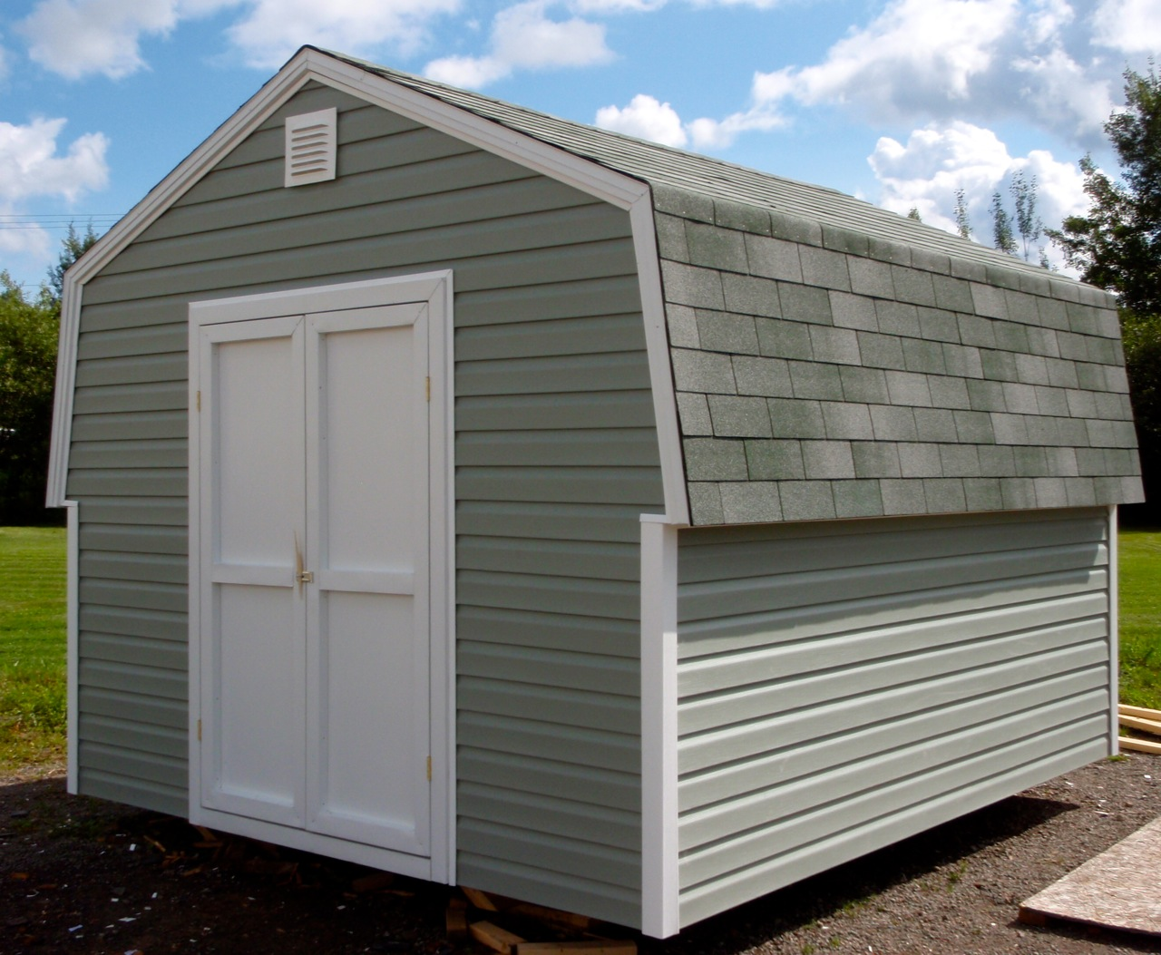 gambrel peak roof sheds jeramand baby barns storage
